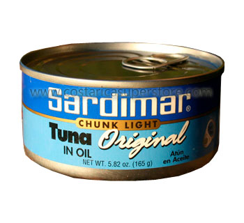 Tuna in oil Sardimar 165g
